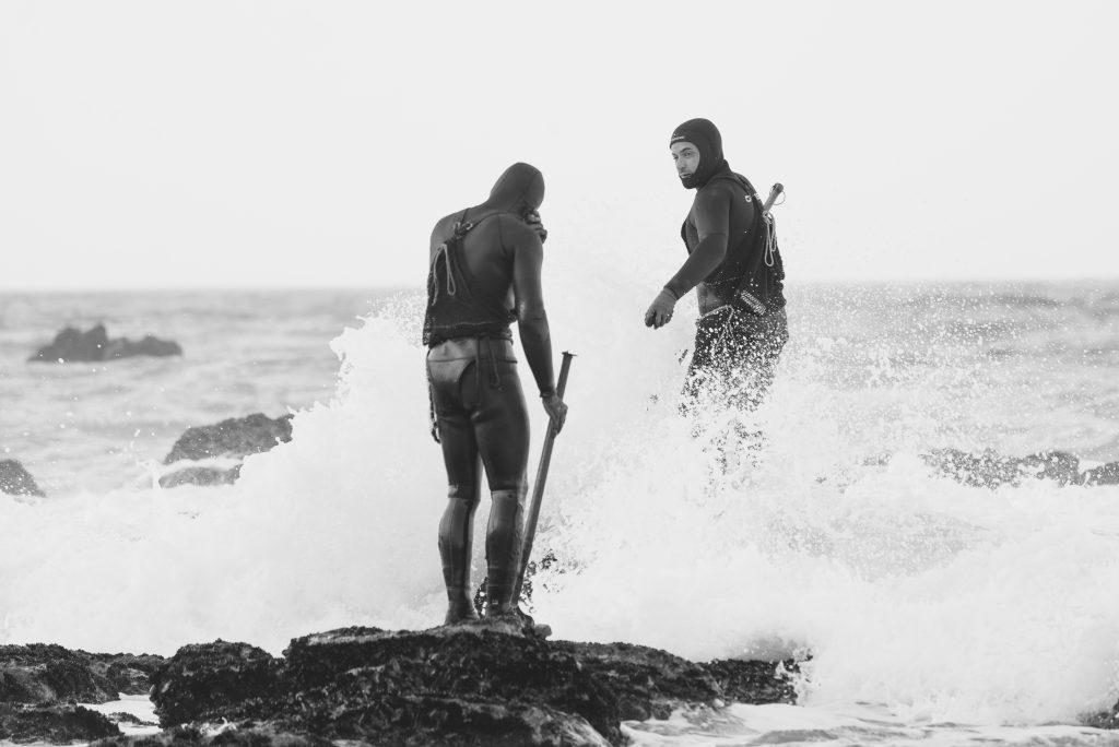 percebeiros, marisco, riasbaixas, galicia , fotografía, mar